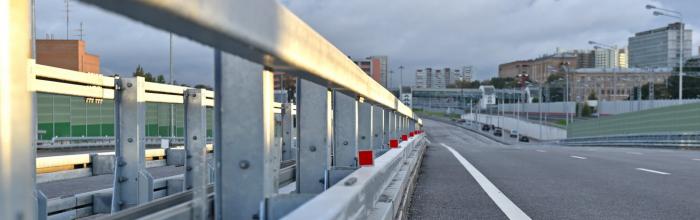 Андрей Бочкарёв: строительная готовность столичной системы хордовых магистралей составляет 57%