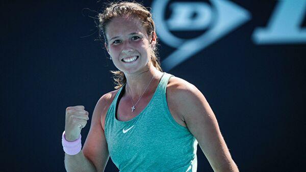 Российская теннисистка Касаткина вошла в топ-20 Чемпионской гонки WTA