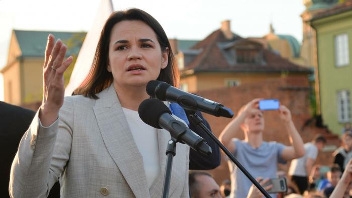 Тихановская заявила, что надеется на новые президентские выборы осенью