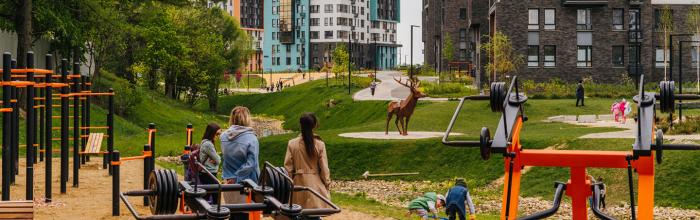 Дом на 664 квартиры с детским садом появился в ЖК «Скандинавия»