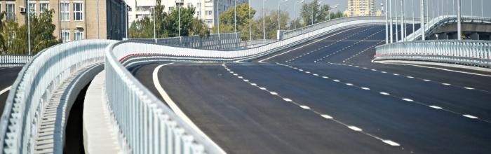 Строительная готовность столичной системы хордовых магистралей составляет 57%