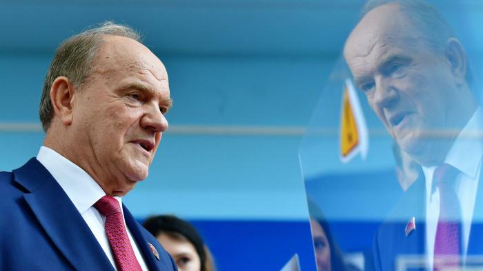Депутаты КПРФ единогласно избрали Зюганова руководителем фракции в Госдуме