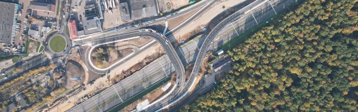 Около 50 км дорог построено и реконструировано в Москве с января