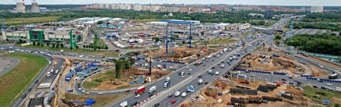 Развязка МКАД с Осташковским шоссе готова на 40% – Бочкарёв