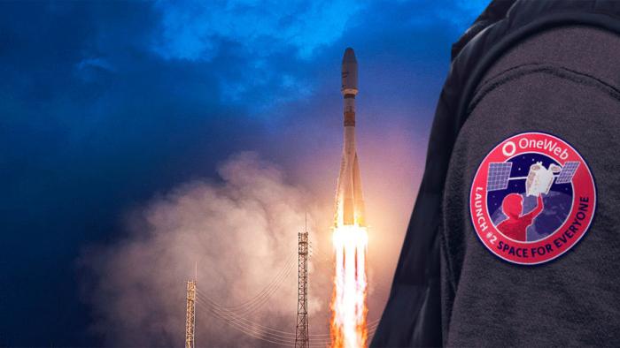 «Союз» со спутниками OneWeb вывезли настартовый комплекс