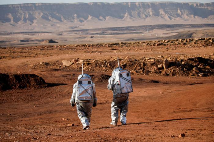 ВИзраиле запустили самый масштабный симулятор жизни наМарсе