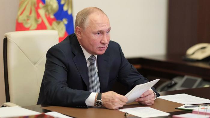 Путин провел встречу с главой фракции «Единой России» Васильевым