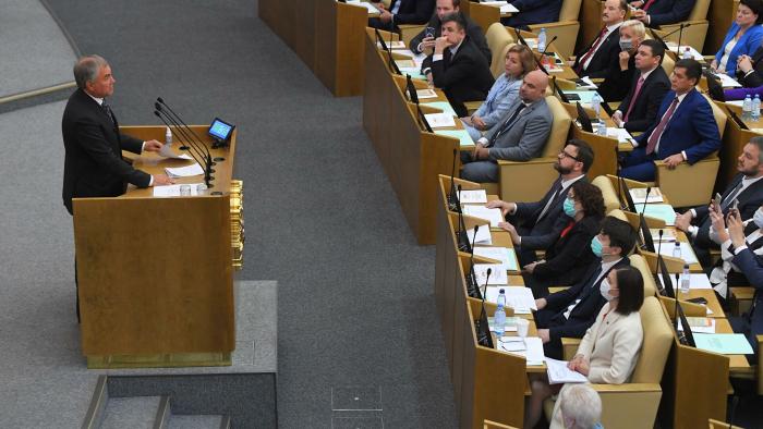 Володин разрешил главе комитета по здравоохранению выступать вне повестки