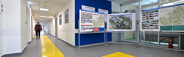 Переход между двумя корпусами больницы им. Боткина введут в 2022 году