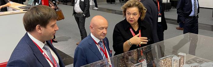 Проект редевелопмента промзоны «Октябрьское поле» представлен на международной выставке Expo Real в Германии