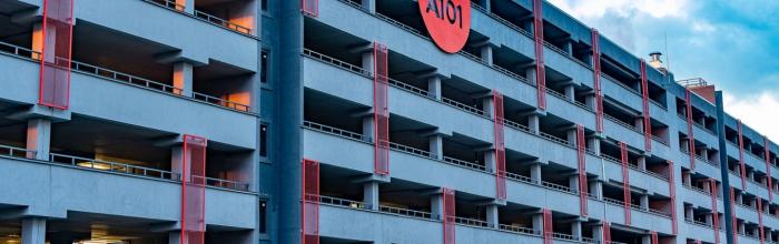 В ЖК «Испанские кварталы» построили паркинг на тысячу машин