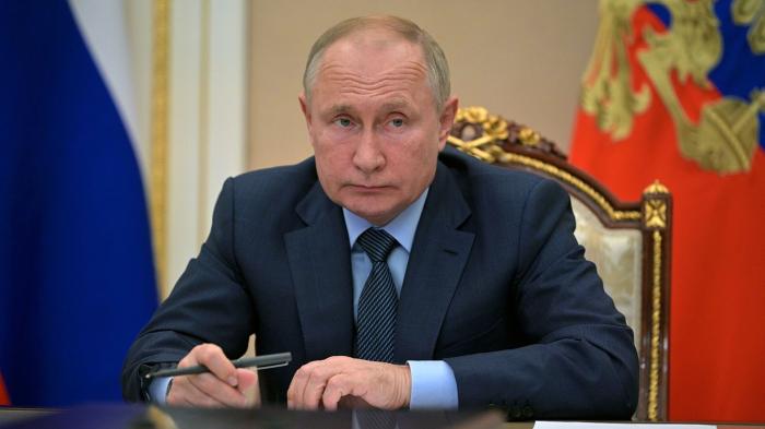 Путин пообщался с главой фракции партии «Новые люди» Нечаевым