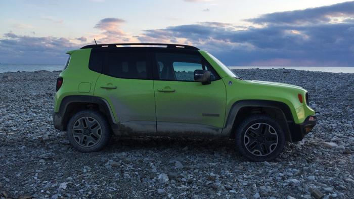 Jeep Renegade ушел изРоссии