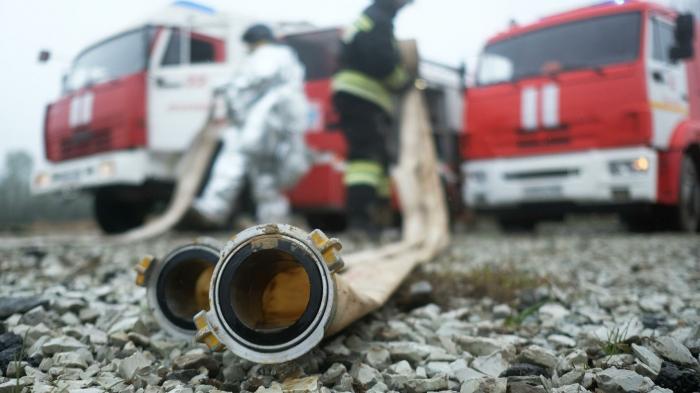 В Кронштадте три человека погибли при пожаре