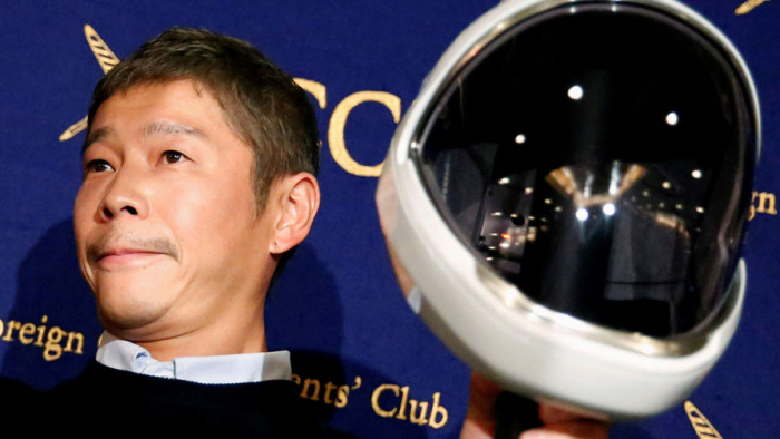 Японский миллиардер Юсаку Маэдзава заявил, что хочет играть вбадминтон наМКС