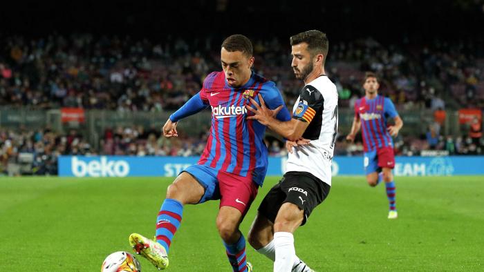«Барселона» одержала волевую победу над «Валенсией» в Примере