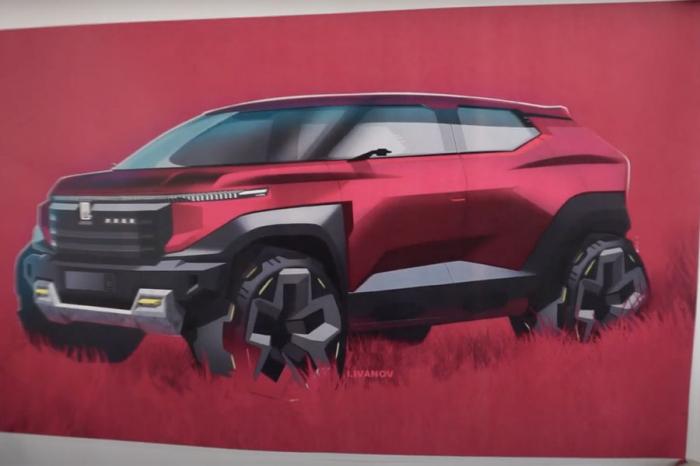 Дизайнер «АвтоВАЗа» показал свой вариант внедорожника Lada